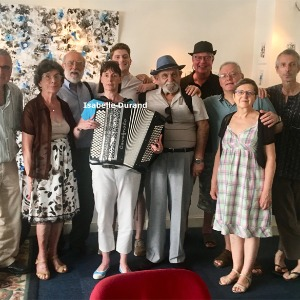 Cappuccino # 30 juin 2019 -  invitée : Isabelle Durand, accordéoniste